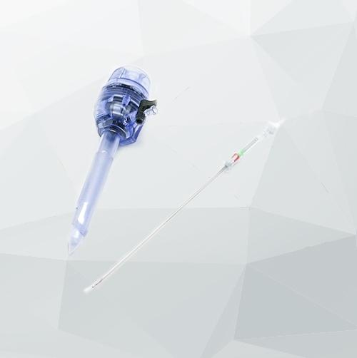 一次性气腹针的使用